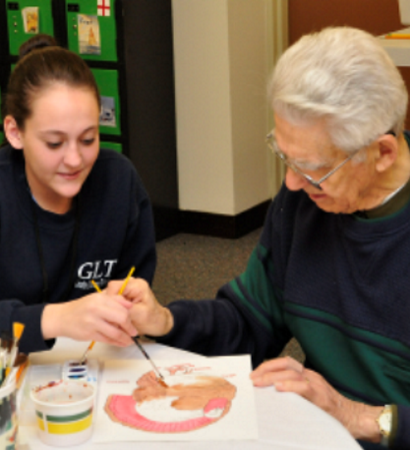 Senior Connections Painting