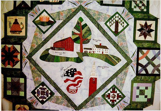 Town of Andover 350th Quilt
